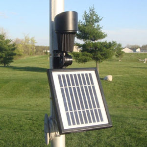 12 LEDs Commercial Grade Solar Spot Light SGG-12 Flagpole
