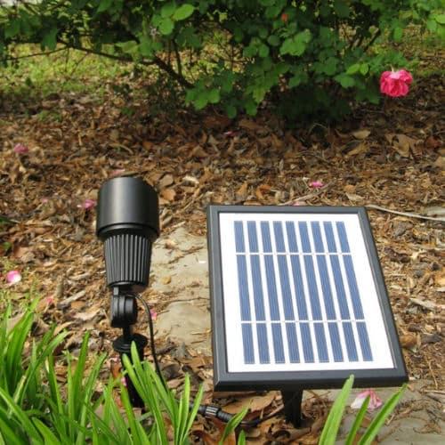 Commercial grade dual solar spot light kit greenlytes 12 leds commercial grade solar spot light sgg 12 garden aloadofball Choice Image