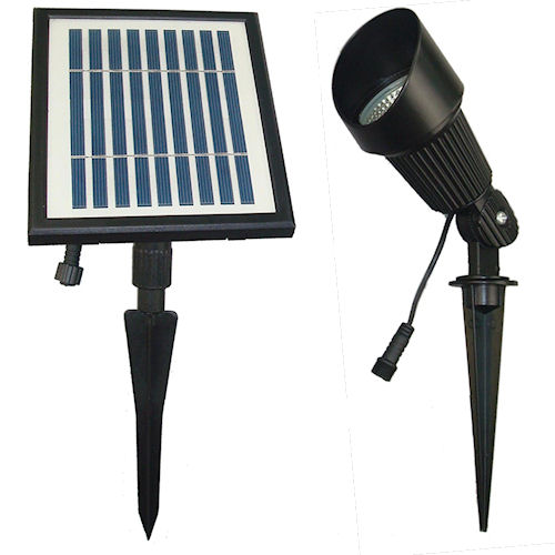 Outdoor Flood Lights Wont Turn Off: Solar Goes Green Commercial Grade Solar Spot Light