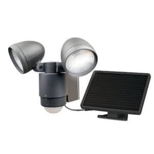 12 LEDs Dual Solar Security Light Maxsa 44416