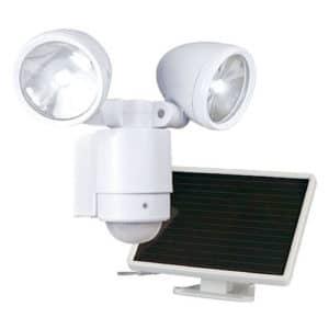 12 LEDs Dual Solar Security Light Maxsa 44418