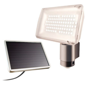 Aluminum Solar Motion Light 80 LED Maxsa 40227