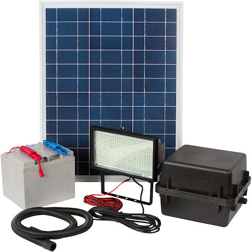 Commercial Solar Flood Lights Nz: Commercial Solar Flood Light 336 LED