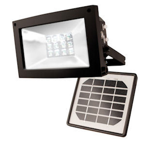 12 Leds Solar Flood Light Maxsa 40330 Solar Sign Light