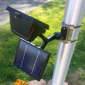 PolePal Commercial Solar Flood Light
