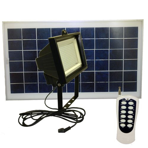 Solar Flood Light 156 LEDs