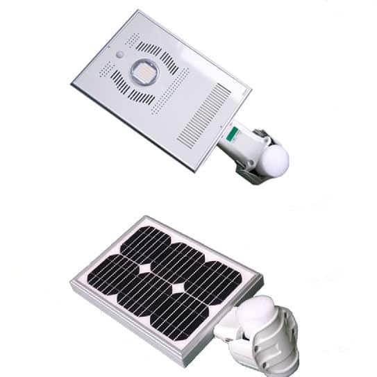Street Light Watts: 8 Watts LED Solar Street Light With AC Input