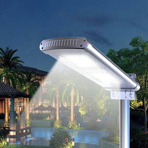 12 Watts Led Solar Street Light Parking Lot Light