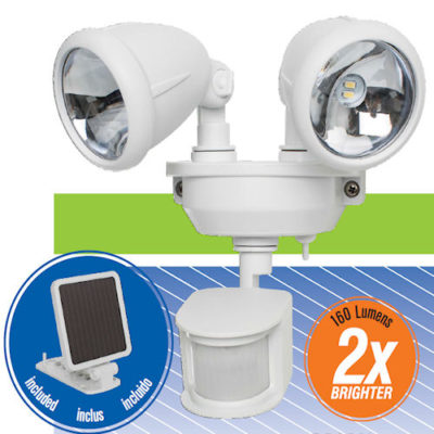 Dual Solar Security Flood Light Maxsa 44217