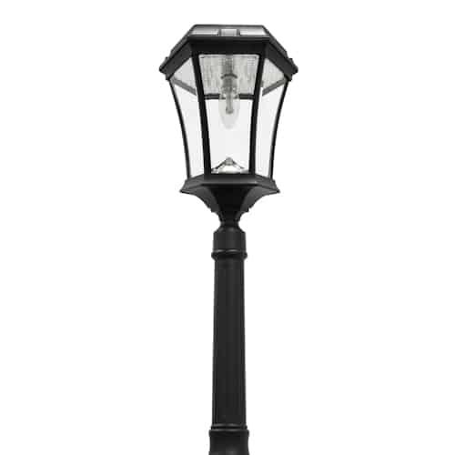 Victorian Solar Lamp Post 1 Head Gama