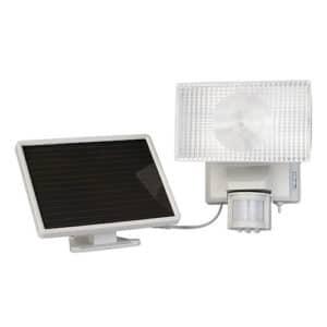 Maxsa 40225 80 LED Solar Motion Light Off-White