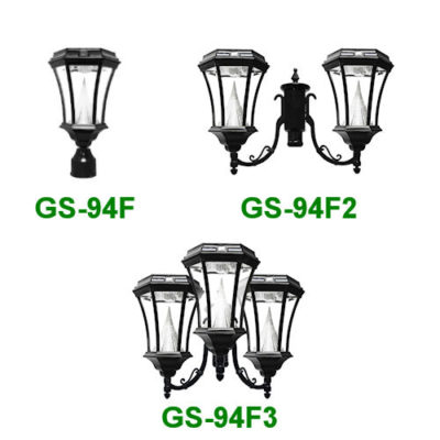 Solar Lamp Post Heads