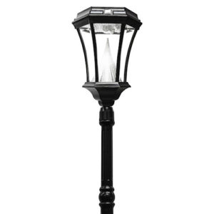 Victorian Solar Lamp Post 1 Head