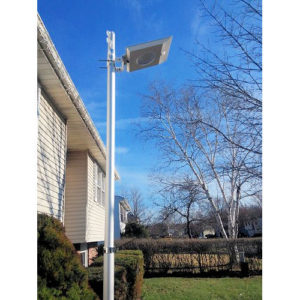64 LED Commercial Solar Security Light Day