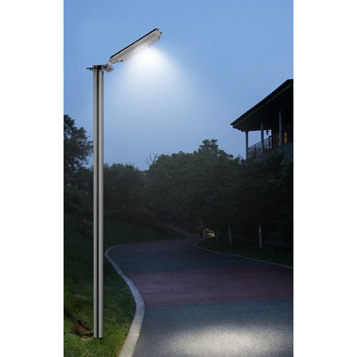 Commercial solar security light parking lights greenlytes for Poteau led exterieur
