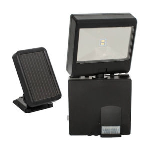 Maxsa 44311 Solar Security Floodlight