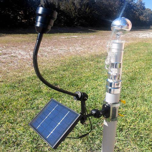 Commercial Solar Flagpole Light Patriot Light Greenlytes