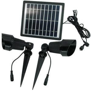 Commercial Grade Dual Solar Spot Light SGG-S24