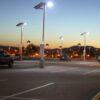 Solar Powered LED Parking Lot Lights