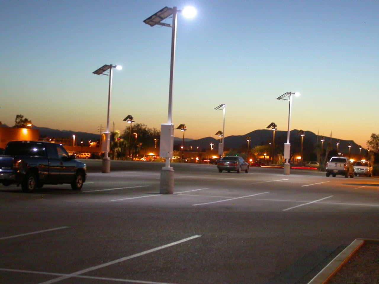 Solar Powered Led Parking Lot Lights Greenlytes Blog
