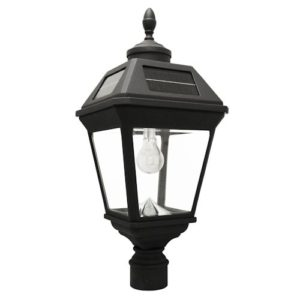 Gama Sonic Imperial Bulb Solar Post Light