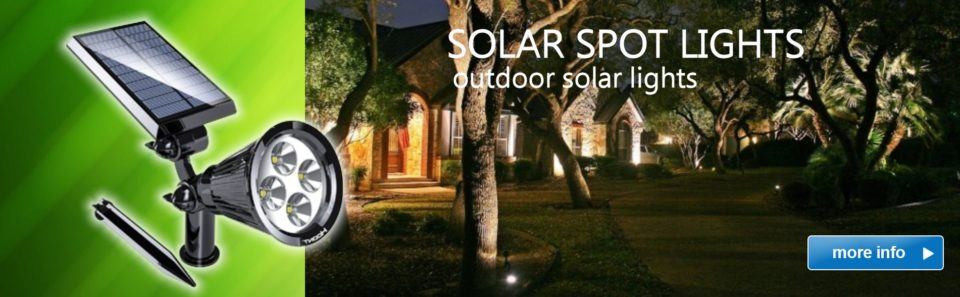 Slide Solar Spot Lights