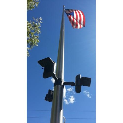 Polepal Solar Flagpole Light